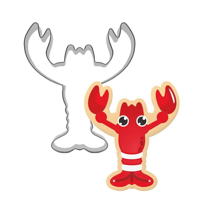 Lobster Mold Cookie Cutter Animals Occasions And Theme Party Kids