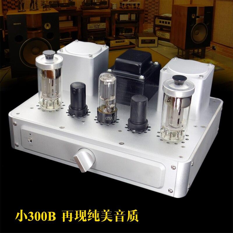 A500 8 W * 2 PCM5102 décodage + CSR QCC3003 Bluetooth 5.0 petit 300B FU50 classe A amplificateur de Tube de sortie à une extrémité