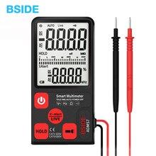 Ultra-Portable Digital Multimeter BSIDE ADMS7 Large 3.5» LCD 3-Line Display Voltmeter With Voltage NCV Resistance Ohm Hz Test