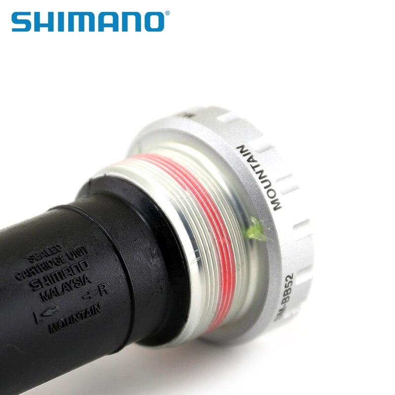 Shimano Deore SM BB52 Hollowtech II Bottom Bracket Mountain Bike 68//73 mm
