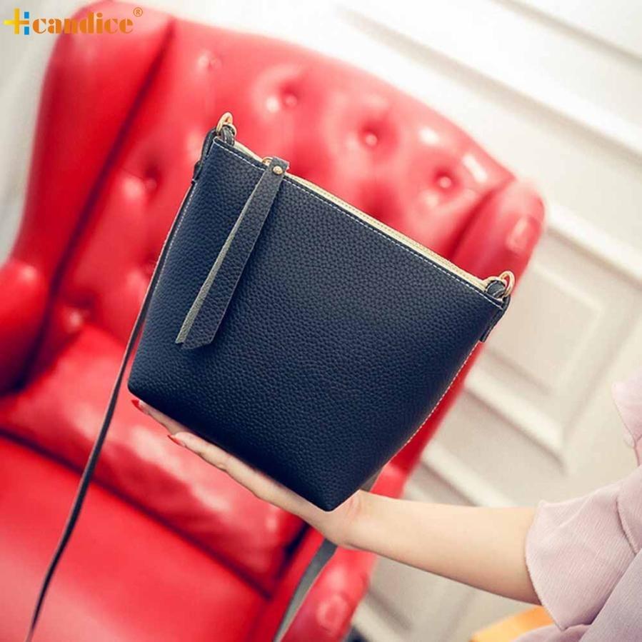 Naivety 2016 New Simple Small Fashion PU Leather Handbag Cross Body Women Shoulder Messenger Bag AUG04 drop shipping майка женская roxy hey joe ta white