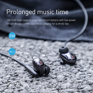 Image 3 - Baseus S30 Bluetooth Earphone For iPhone X Xiaomi Huawei Wireless earphone 5.0 bluetooth wireless headset for phone music