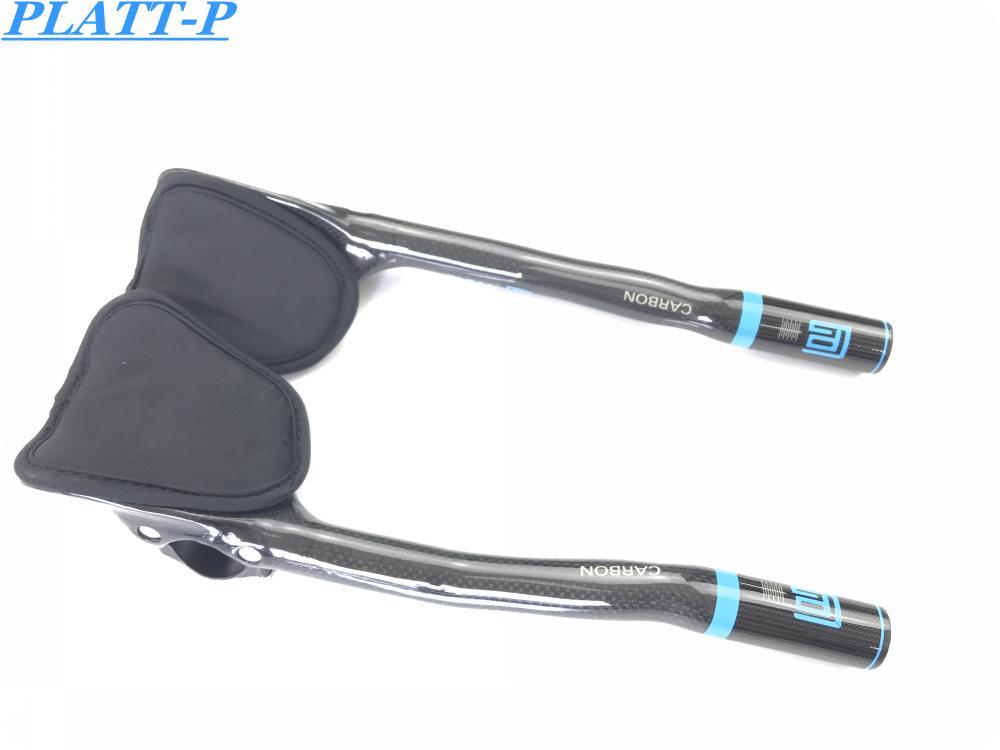 PLATT Fahrradlenker Fahrrad Aero Bar Rest In Fiber Carbon Aero Bar - Radfahren - Foto 3