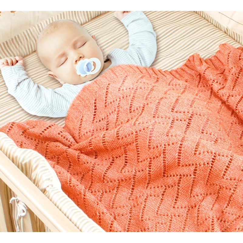 Baby Swaddle Quilt Summer Bebek Baby Bed Organizer Quilts Boys Girls Knit Bedding Blanket Sheet Stroller Cover Lit Enfant
