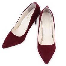 Women High Heel Shoes Girls Shallow Mouth Party Wedding Shoes Ladies Pumps Sexy Red Bottom Pointed Toe Thin High-Heels Shoes