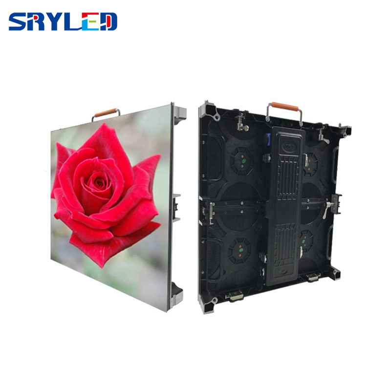 P4 81 Outdoor LED Display with Nova Star MRV300 Receiving Card Die Casting Aluminum Cabinet 500