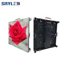 P4.81 노바 스타 mrv300 수신 카드 + 다이 캐스팅 알루미늄 캐비닛 500*500mm 무대 야외 led 스크린 야외 led 디스플레이