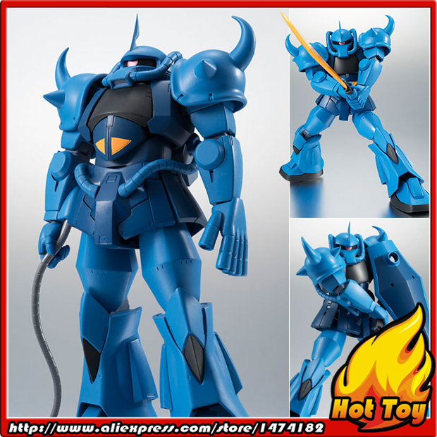 Original BANDAI Tamashii Nations Robot Spirits No.201 Action Figure - MS-07B Gouf ver. A.N.I.M.E. from Mobile Suit GundamOriginal BANDAI Tamashii Nations Robot Spirits No.201 Action Figure - MS-07B Gouf ver. A.N.I.M.E. from Mobile Suit Gundam
