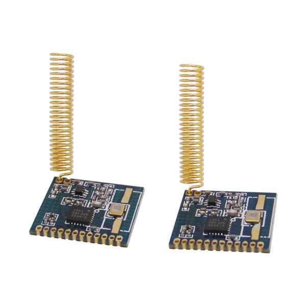 10 buc / lot Cost redus 433mhz | 470mhz | 868mhz | Modul frontal-RF4432 transceiver fără fir de cip chip Si4432 încorporat de 915MHz