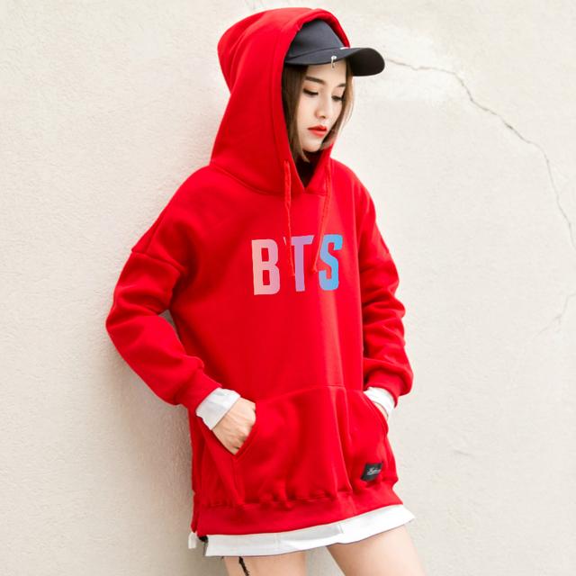 "BTS ""tri"" color hoodies sweater"