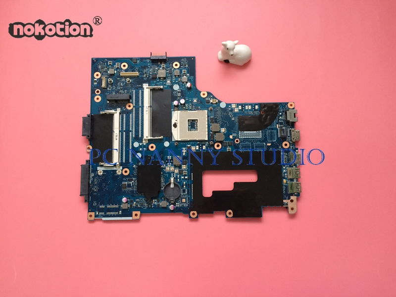 NOKOTION for Acer Aspire E1 731 Series Laptop Motherboard Mainboard NBMG711001 NB MG711 001 HM77 2