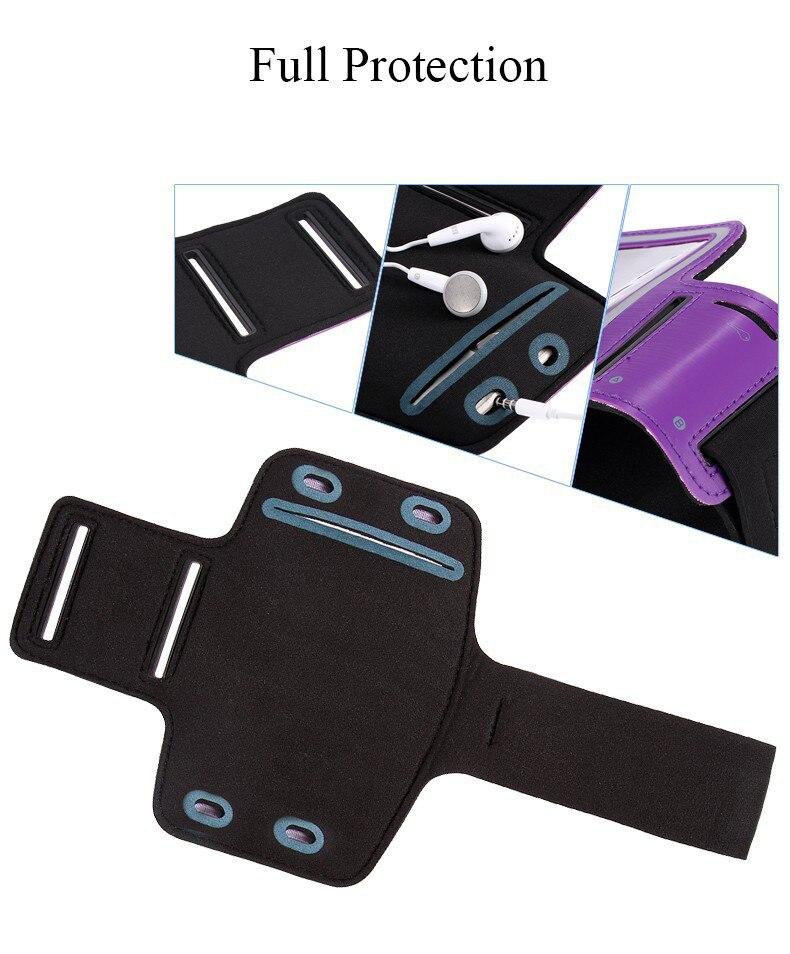 Llegada de alta calidad multicolor deportes correr trotar gimnasio - Accesorios y repuestos para celulares - foto 6