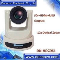 Бесплатная доставка: DANNOVO широкоугольная SDI + HDMI + IP Сетевая камера для видеоконференции, для вещательной системы, 12x зум, (DN HDC061)