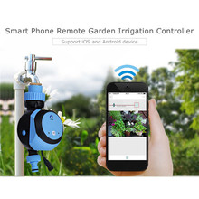 Automatic Intelligent Electronic Water Timer Smart Phone Remote Garden Irrigation Controller Watering System Solenoid Valve Hose wifi smart watering valve intelligent drip irrigation phone remote controller diverse timing
