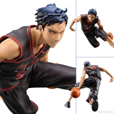 Anime Catoon Kuroko's Basketball Aomine Daiki PVC Action Figure Collectible Toy 18cm KT235 neca planet of the apes gorilla soldier pvc action figure collectible toy 8 20cm