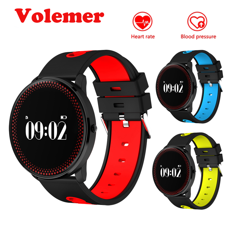 Volemer Waterproof Smart Band CF007 Pedometer Fitness Tracker Bluetooth Smart Bracelet Heart Rate Monitor Wristband Sync