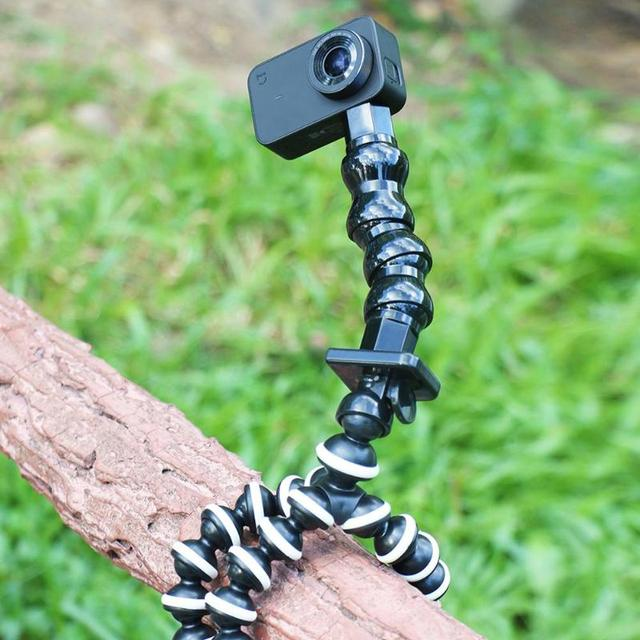 Gooseneck Adjustment Jaws Flexible Hose Clamp Mount for GoPro Hero Camera