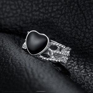 Image 3 - JewelryPalace Vintage Amore 4.4ct Genuine Black Onyx Intrecciate Fascia di 925 Anello In Argento Sterling Per Le Donne 2018 Nuova Vendita Calda
