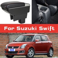 Leather Car Armrest for Suzuki Swift