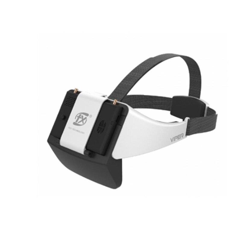 FXT VIPER 5.8G diversité HD FPV lunettes avec DVR intégré réfracteur pour RC Drone modèles Multicopter pièces de rechange accessoires