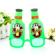 Funny Beer Bottle Glasses Beach Party Prop