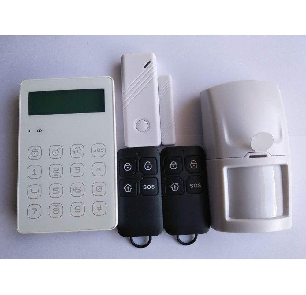 Secustone GSM SMS Home Alarm Security System App Control Door Windows Sensor PIR Motion Detector KeyFobs 433MHZ intelligent home security alarm system with new door sensor pir detector app control sms gsm alarm system support rfid keypad