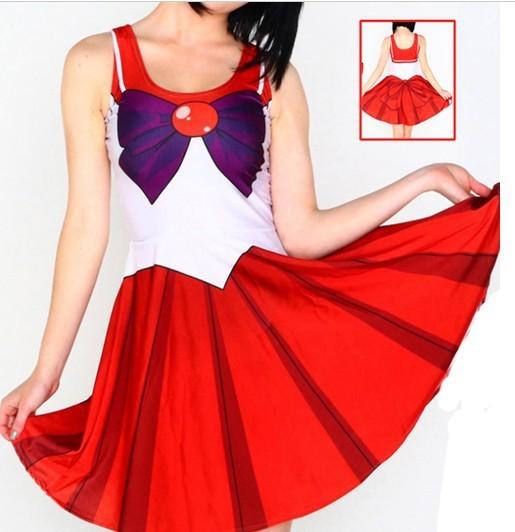 10 Colores Anime Sailor Moon Cosplay Traje Atractivo Más Tamaño XL Regalo de Disfraces de Halloween Para Las Mujeres Fantasia Lolita Disfraces W00425