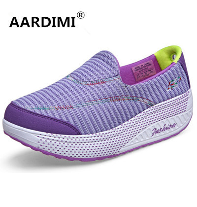 Новый Продать смешанные цвета хлопок женщины повседневные туфли на платформе весна 5 цвета туфли высота увеличение обувь женщина chaussure femme