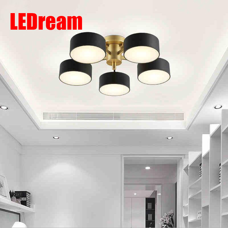 Postmodern contracted Nordic led to absorb dome light, wrought iron hall, sitting room, creative arts warm bedroom room lamps an eiceo crystal droplight contemporary contracted sitting room lamp atmosphere bedroom lanterns wrought iron led pendant light