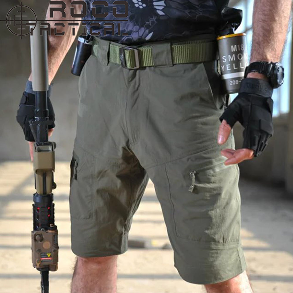 New Arrival Mens Quick Dry Tactical Shorts Breathable Lightweight Fast Dry City Urban Military Shorts Black/Khaki/Olive Drab