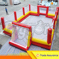Sea Shipping Giant Inflatable Football Fields Inflatable Football Soccer Game For Sale