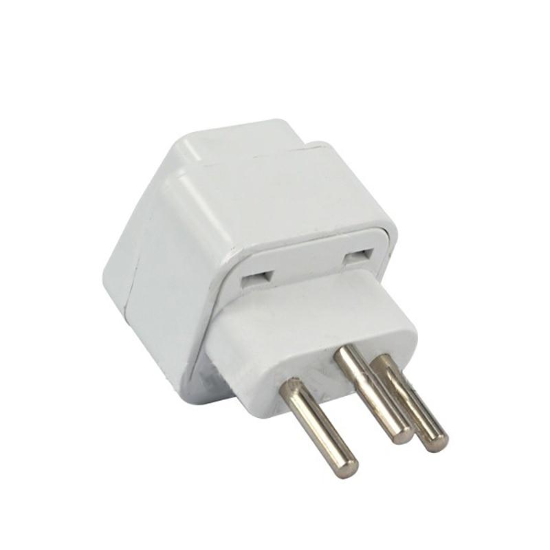 Universal 3pin Switzerland Conversion Plug Adapter UK/US/EU/AU 3 Pin Switzerland Travel Plug Type J Swiss Plug Converter Plug