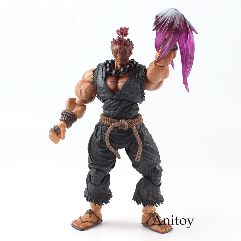 PLAY ARTS KAI Street Fighter IV 4 Gouki Akuma SUPER ARCADE EDITION Vol.2 PVC Action Figure Collectible Model Toy 23.5cm KT4773 play arts kai street fighter iv 4 ryu pvc action figure collectible model toy