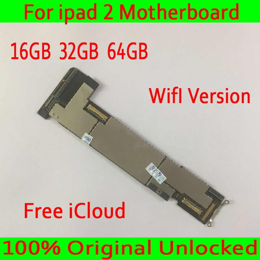 Free iCloud for iPad 2 Motherboard with IOS System,100% Original unlocked for iPad 2 Mainboard,Wifi Version,16GB  32GB  64GBFree iCloud for iPad 2 Motherboard with IOS System,100% Original unlocked for iPad 2 Mainboard,Wifi Version,16GB  32GB  64GB