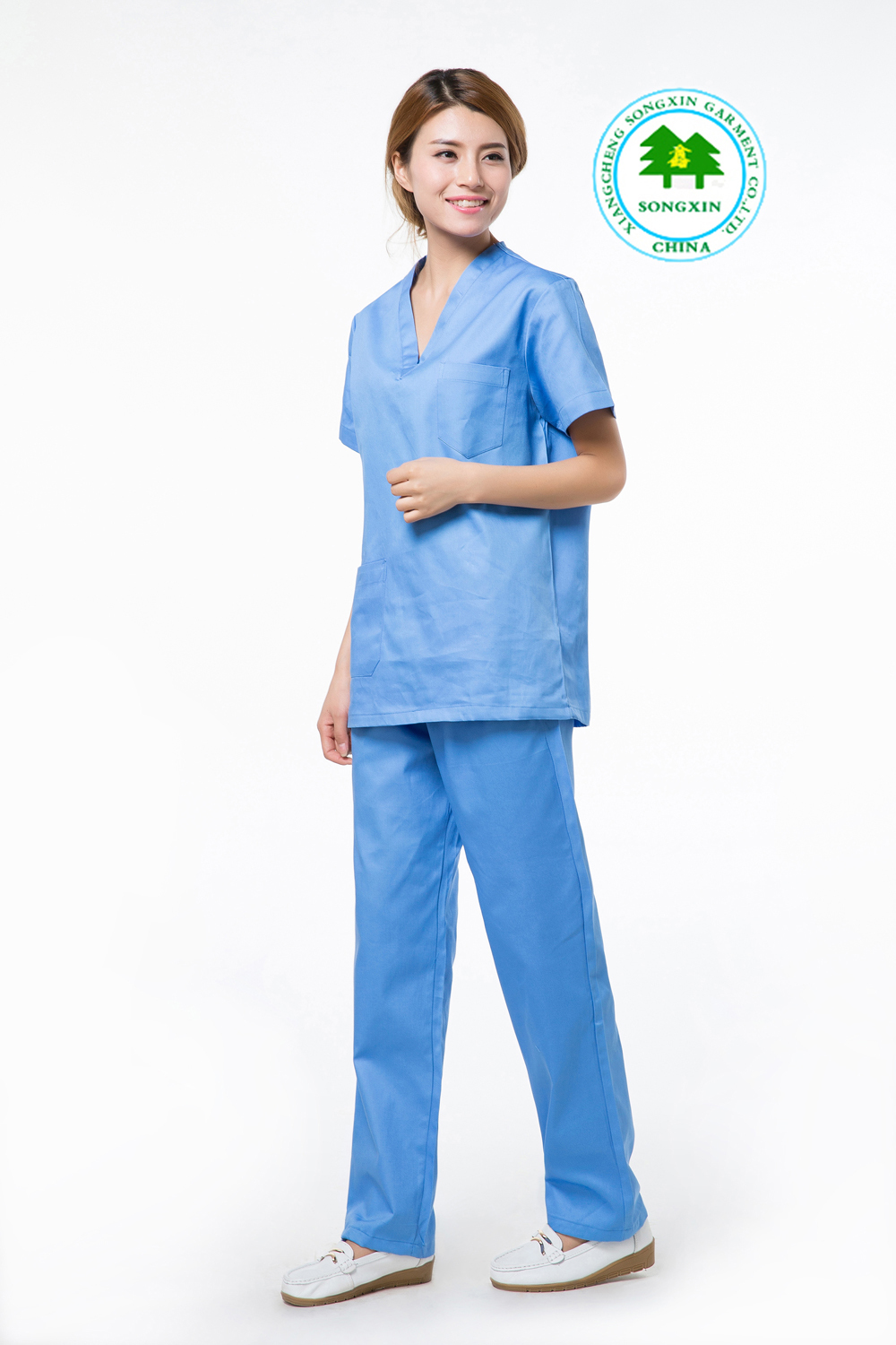 21c0a042cf7 Free Shipping OEM scrub sets hospital uniform hospital clothes physician  services short sleeve for women hot sale for summer-in Scrub Sets from  Novelty ...