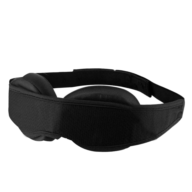 3D Eyeshade Sleep Mask Memory Foam Padded Shade Cover Travel Sleeping Eye Mask Adjustable Sleeping Aid Blind for Sleeping Rest