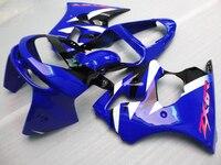 Customized full fairing kits for KAWASAKI Ninja ZX6R 1998 1999 motorcycle fairings set ZX 6R ZX636 98 99 blue body repair parts