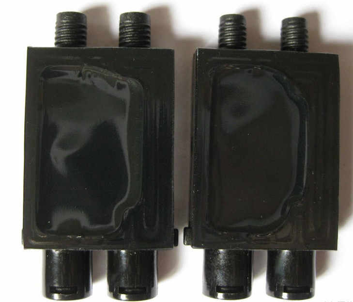177000 printhead UV tinta DX7 print head menggunakan peredam untuk 3*2mm tabung tinta