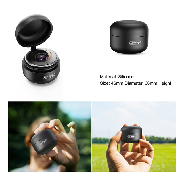 APEXEL HD 195 degree super fisheye lens phone camera lenses with universal clip for Xiaomi Huawei all smartphone dropshipping 4