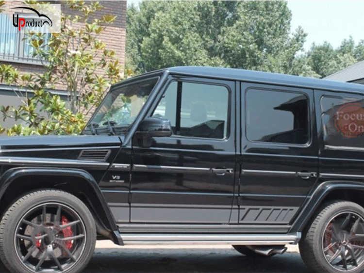 Autocollants latéraux autocollants W463 autocollants de porte latérale, Style gris et noir
