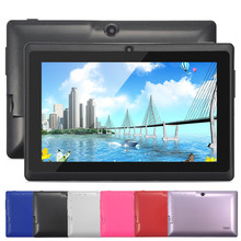"Barato Tablet PC 512 8 GB Multi-Color de 7 ""Android 4.4 de Allwinner A33 Quad Core 1.5 GHz Android Tablet Envío Gratis"