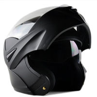 Cycling Helmet Black Men Women Cycling Safely Cap Removable Flip Up Dual Visor Full Face Motorcycle