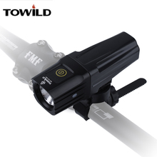 TOWILD Bicycle bike Headlight Waterproof 1100 Lumens MTB Cycling Flash Light Front LED Torch Power bicycle accessories