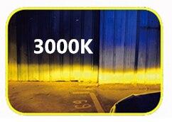 Infitary 2 шт. COB Чип автомобильная светодиодная головная светильник H4 H7 H1 H3 H11 H13 9004 9005 9006 9007 лампы 10000LM 3000K 4500K 6500K мини авто светильник - Испускаемый цвет: 3000K