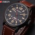 Luxo casual homens relógios militar analógico sports watch quartz masculino relógios de pulso curren relogio masculino montre homme 8240