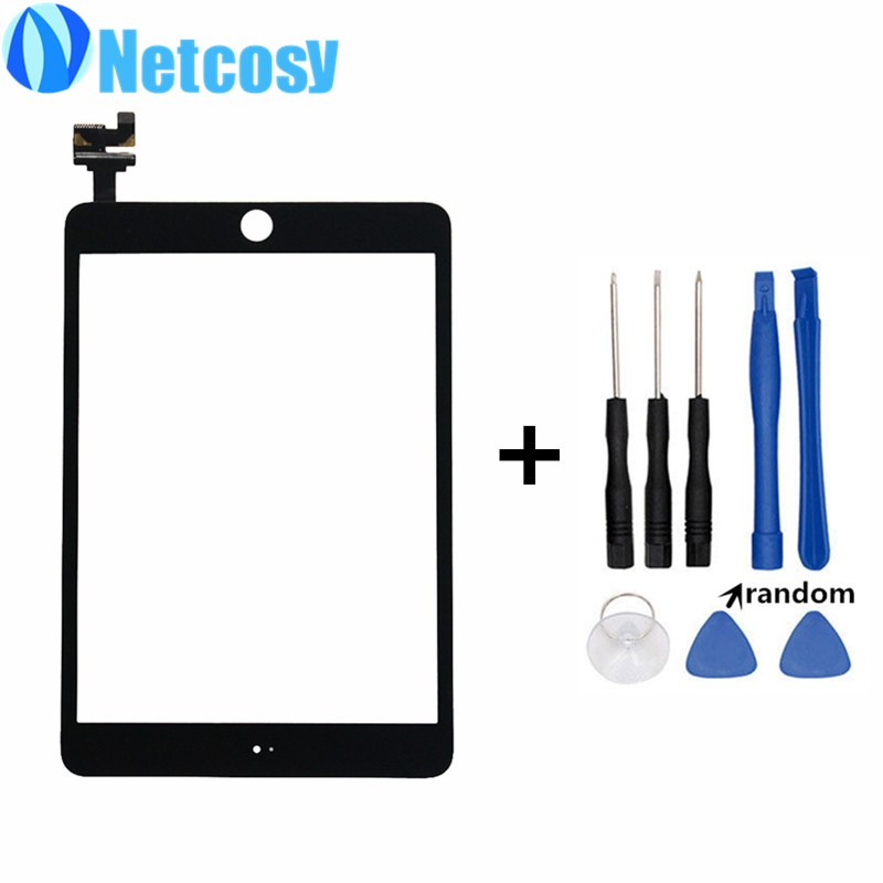 все цены на  For ipad mini 3 Touch screen digitizer glass panel with IC conector repair part for ipad mini 3 mini3 Tablet touch panel & tools  онлайн