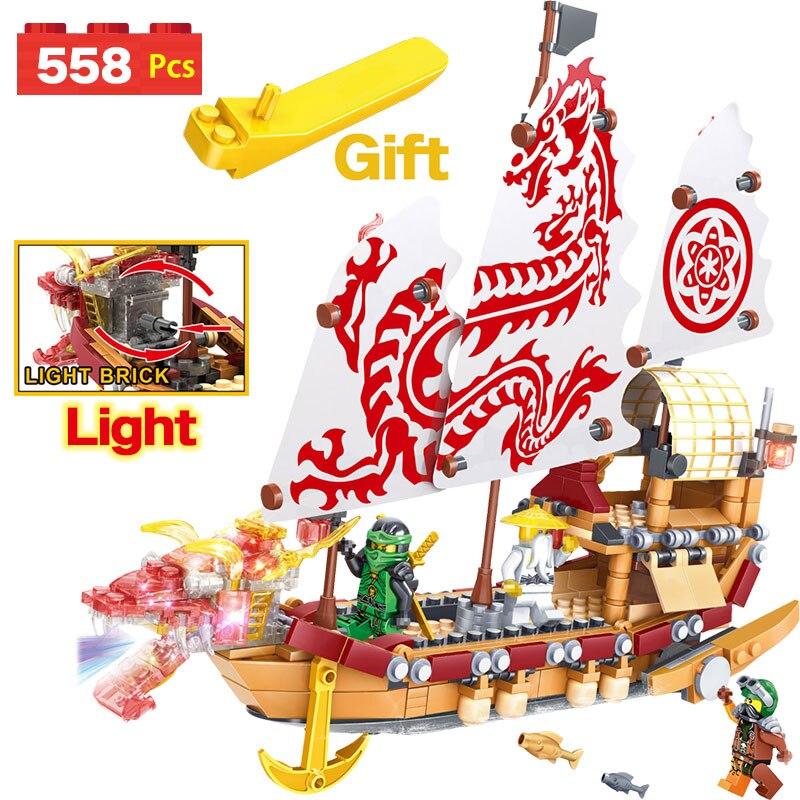 Classic Building Blocks Legoinglys Ninjago Destiny's Bounty Ship Bricks NinjagoINGLYS Movie Boat Model Toys Children movado museum classic 0606503
