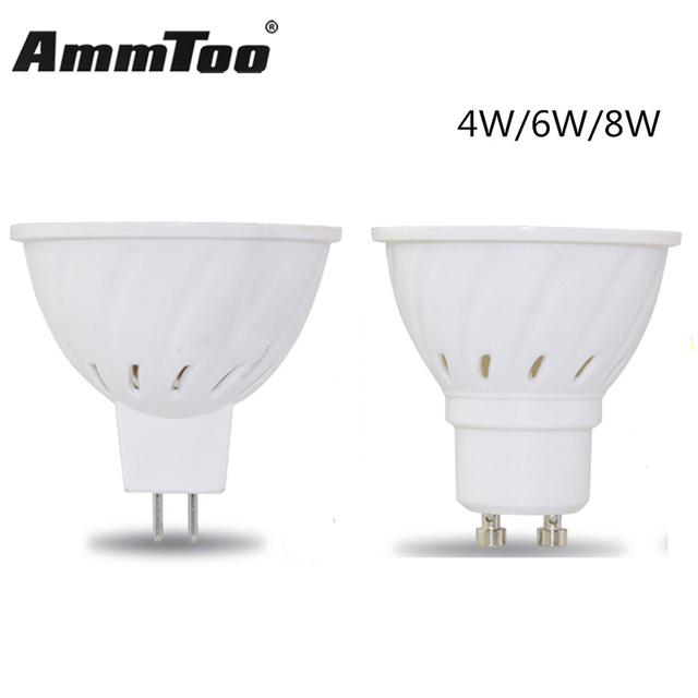 GU10 MR16 Led Spotlight Hittebestendige Body LED Lamp 2835 SMD 36Led ...