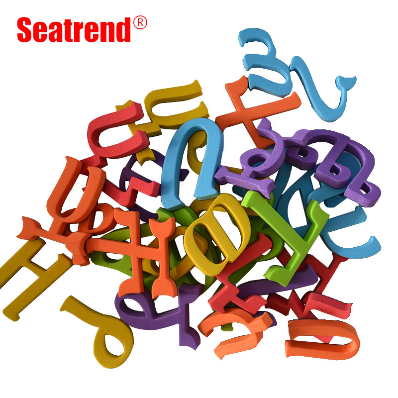 Seatrend Amharic Language Alphabet Stickers Magnets