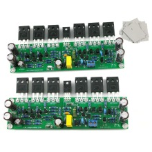 цены One Pair Assembled L15 Power Amplifier Board IRFP240 IRFP9240 150W 8R/300W 4R 2 Channels